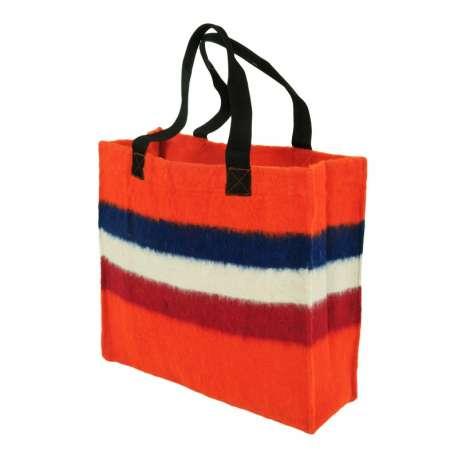 Hollandse draagtas van dekenstof