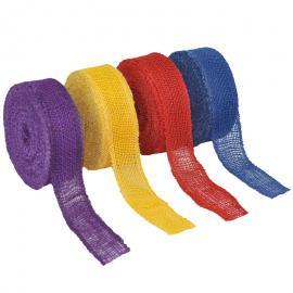 Jute band in meerdere kleuren