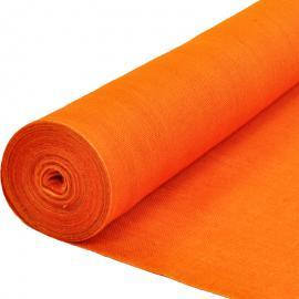 Jute op rol oranje (25 m)