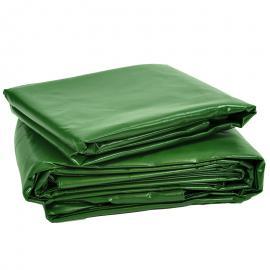 Afdekzeil groen PVC (600gr/m²)