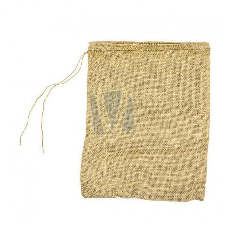 Jute zakken met sluitkoord 30 x 40 cm (per stuk)