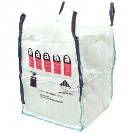 Big Bags met asbestlogo