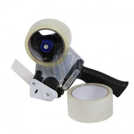 Verpakkingstape (2 rollen) + afroller