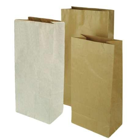 Papieren blokbodemzakken (per 25 stuks)