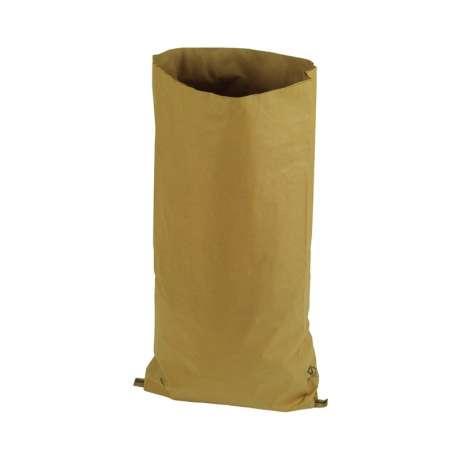 Papieren zak met zijvouw (per 10 stuks)