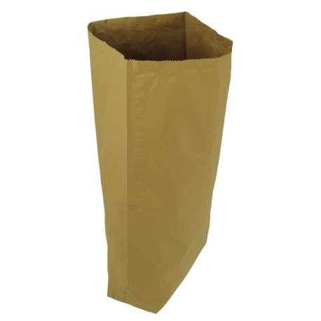 Papieren zak met coating (per 10 stuks)