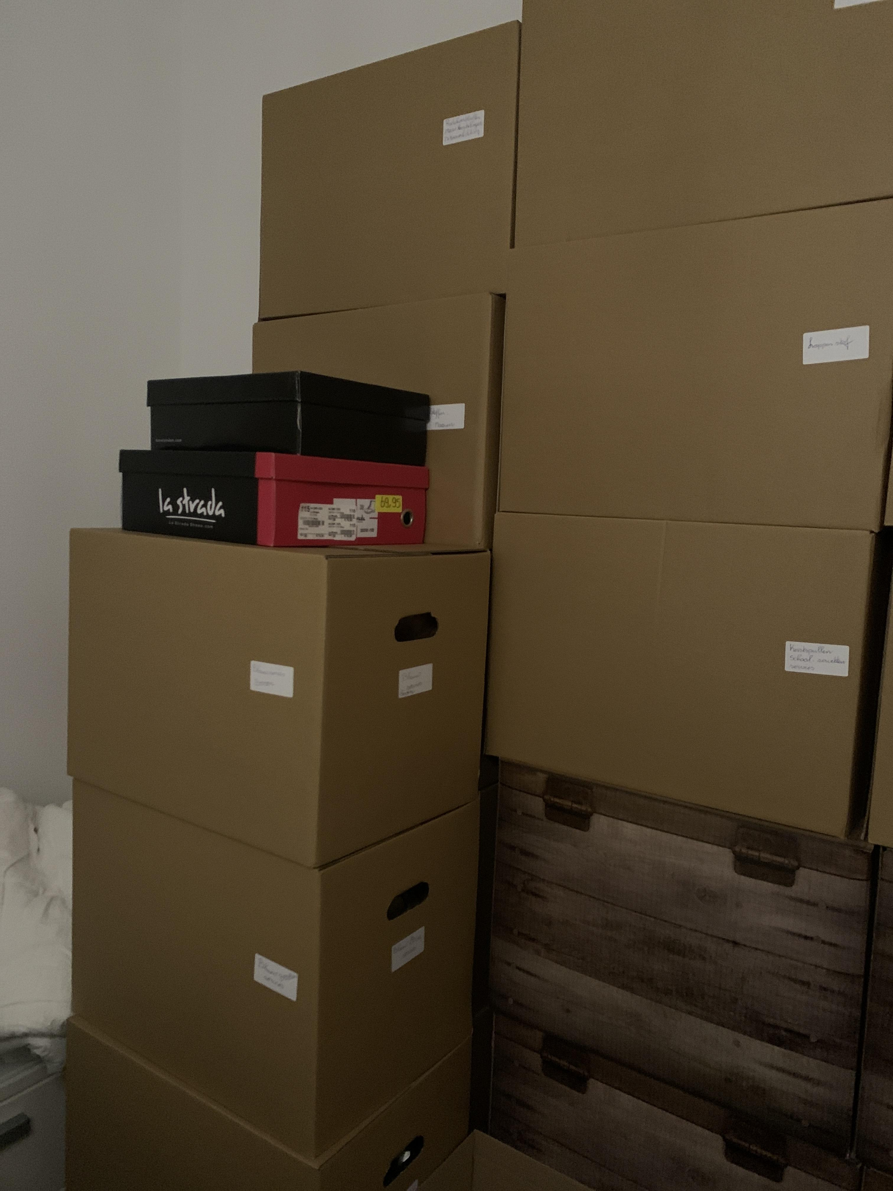 Verhuisdozen (per stuk) gebruik: Om te verhuizen